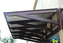 Backdoor awning