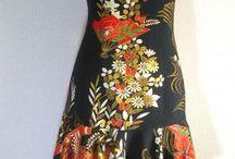 和服・着物リメイク+着物地の洋服・和風デザイン