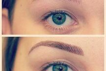 Before and After Photos / SurvivorEyes BrowStyle kits offer high style brows that are easy to apply and cosmetic that lasts all day.