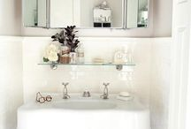Styles (Small Bathrooms) / Squeeze a little extra storage out of your small bathroom.