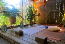 Yoga Shala  spaces, meditation rooms and more..