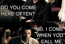 Supernatural / Jensen Ackles - Dean Winchester Jared Padalecki - Sam Winchester Misha Collins - Castiel