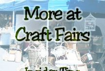 Craft Fairs / Ideas for Craft Fair displays, and also ideas to make and sell.