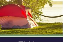 Fishing / Fishing gear and essentials to bring along on your camping weekend.  #firesidecamping | FiresideCamping.com