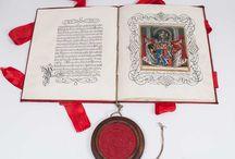 Faksimile nobilitačních listin pro Město Valašské Meziříčí