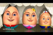 Learn Colors with Surprise Eggs - Kid's Songs | 3D Animation Eggs Nursery Rhymes for children - YouTube