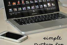 Photography organize digital photos