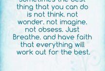 Have faith / by Imogene Teague