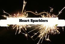 Heart Sparklers / Show your sparkling love you have with Heart Sparklers. / by Wedding Sparklers USA