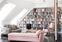 Inspirasjon til huset - bibliotek