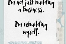 Female Entrepreneur Inspirational Quotes / Inspirations, tips, motivation and quotes for female entrepreneurs and girl bosses everywhere.