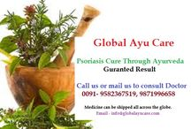 Ayurvedic Cure for Psoriasis / Get guaranteed result for your Psoriasis problem with the help of Ayurvedic medicines. Global Ayu Care offers a free consultation online as well as on phone for detection of the problem and thus prescribing how to cure the problem with the help of medicines ,diet and   lifestyle guidance.