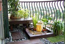 decoracion balcon pequeño