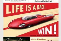 Рекламы и плакаты