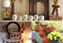 Fall Mantle Decoration Ideas / Enjoy the beautiful ideas for mantel decoration!