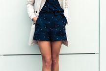 fall style zara playsuits / Love tis combination, shorts and shirt Zara looks amazing