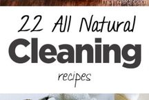 Natural Cleaning Products and Recipes / Ditch the chemical, shop-bought nasties and try some of these natural cleaning products instead. Your health will thank you!