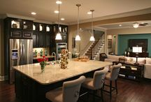 Amazing Kitchens / They say the heart of a home is the kitchen, and with these beautiful designs our hearts are definitely fluttering fast! There is so much to love about these dream kitchens!