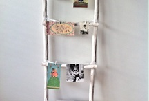 Ladder hout eco / Decoratieve ladders is twee kleuren
