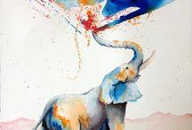 Elefant tatto