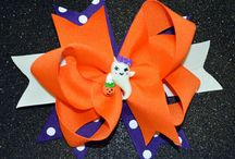 Hair Accessories, Boutique Hair Bows, Halloween and Christmas Bows