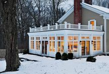 Sunroom, Porches and Four Season Rooms / Peruse ideas, options and designs for beautiful sunroom layouts and four season rooms! Bring the outside, in with the perfect home addition of a sunroom or 3 or 4 season room.