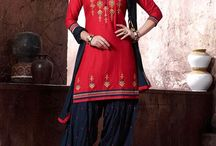 Patiyala Dress / Panjabi Style Patiyala Dress which you can wear in functions, Daily wear and many more...