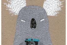Illustration / by Halin Vig