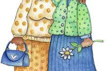 ΑΙ ΔΥΟ ΦΙΛΕΝΑΔΑΙ: ΠΑΡΑΣΚΕΥΟΥΛΑ ΚΑΙ ΦΕΦΟΥΛΑ -TWO FRINDS: PARI AND FEFI