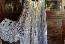 вязание.Платья