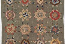 Antique Quilts / Such a stunning hand made quilts