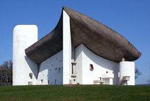 Le Corbusier / L'oeuvre architecturale de Le Corbusier, et la sublimation du béton.
