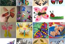 03. BUTTERFLIES / farfalle /  BUTTERFLIES AND CATERPILLARS  / by Maria Lapappadolce