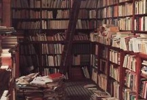 bookshelves and tea / by Suzannah Evans