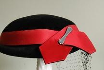 Vintage hat: F-Fox, Fabini, Flechat / by Mary Robak