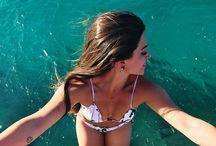 Fotos tumblr na praia/piscina