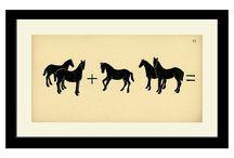Animal silhouete boards