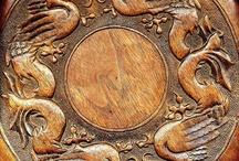 wood - carving / by Deb Ellis