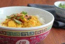 Balinese prawn curry