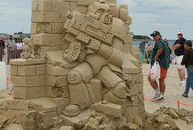 Με άμμο