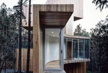 Modern mountain retreat / Our favorite retreat style- hope to  have a mountain home like this some day!