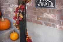 DIY porch sign