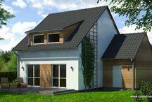 Montované domy - naše rýmařovské domy / Projekty montovaných domov v našej ponuke, aj domy ktoré sme ponúkali v minulosti.  Pozor, všetky materiály sú vlastníctvom našej spoločnosti. V prípade záujmu nás kontaktujte: architekt@modernedomy.sk