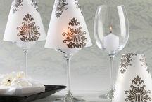 Wine Glass Lamp Shade