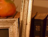 Photo frames / How to guild and age photo frames.