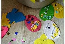 Easy to assemble Easter crafts / Easter craft ideas for pre-school age children.  Simple ideas that you can create at home!