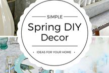 Spring / All the greatest pins for Spring.  Spring decorations, spring home tours, spring flowers, spring wreaths and crafts!