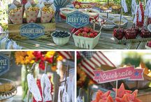 Party Inspiration: vintage 4th of july / by Jessica @Party Pants RI