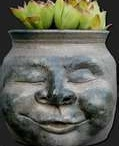 Pot heads and planters