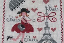 Broderie, tricot